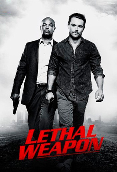 Lethal Weapon series poster.