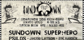 Sundown Superhero Hosting First Music Festival